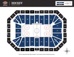 Hockey Seating Chart