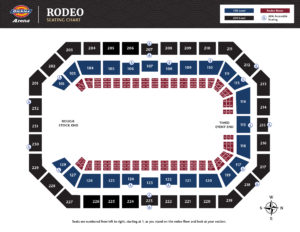 Rodeo Seating Chart